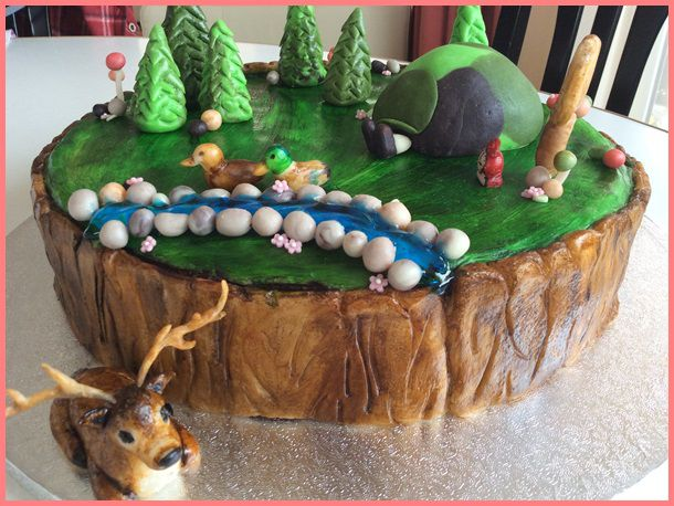 erdő torta